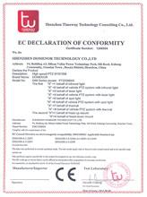 D88系列CE认证证书