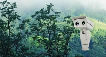 德盟高清云台摄像机在森林防火监控中的应用